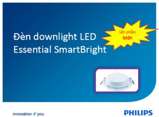 Đèn Downlight âm trần Led Philips SmartBright DN027B LED9 D125 RD 11W 900Lm 6500K
